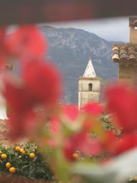 Kirchturmspitze Biniaraix