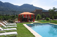 Exceptional house  with large pool and garden in centre of Soller