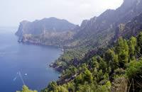 Vom Mirador de ses Barques über Balitx d'Avall nach Cala Tuent